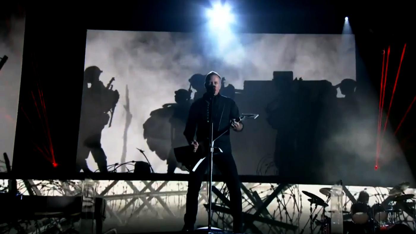 Metallica & Lang Lang Grammies Performance